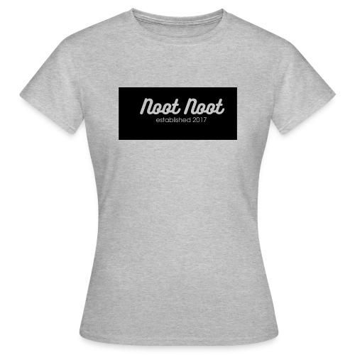 Noot Noot established 2017 - Women's T-Shirt