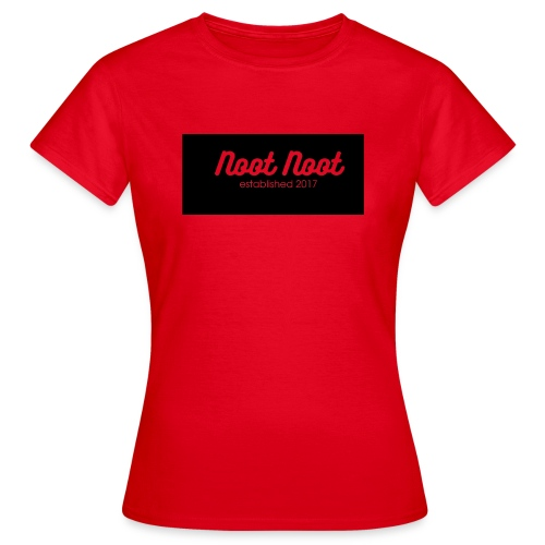 Noot Noot established 2017 - Women's T-Shirt