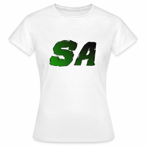 Grön SA Logo - T-shirt dam
