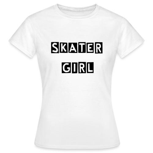skatergirlcutter - Frauen T-Shirt