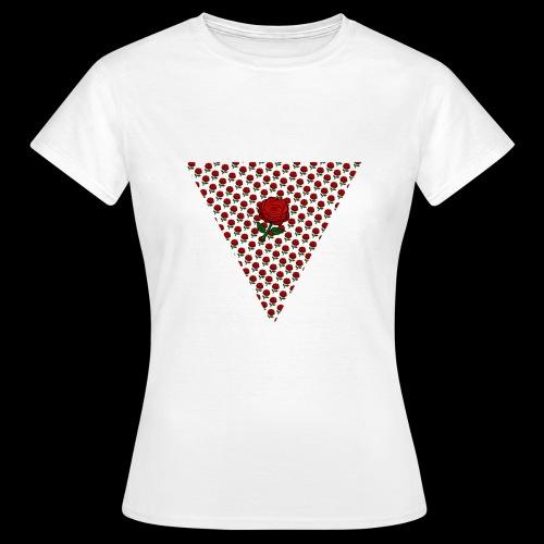 Dreieck Rose - Frauen T-Shirt