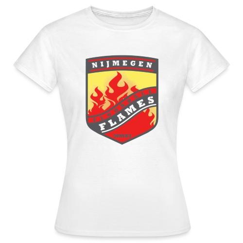 snapback pet rood/zwart combi - Vrouwen T-shirt