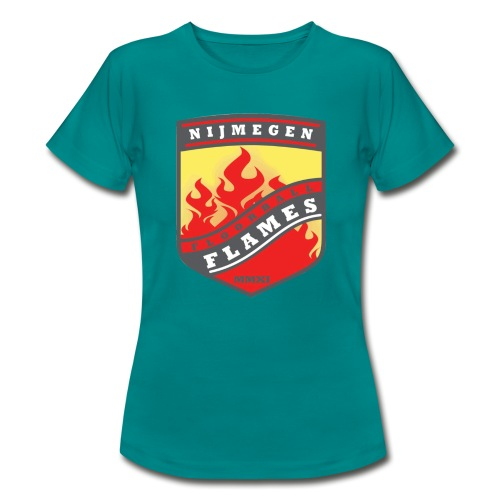t-shirt kid-size zwart - Vrouwen T-shirt