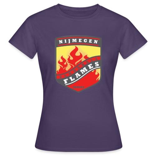 trainingsjack rood - Vrouwen T-shirt
