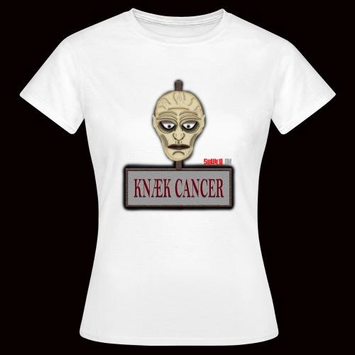 Knæk Cancer Kollektion ! - Dame-T-shirt