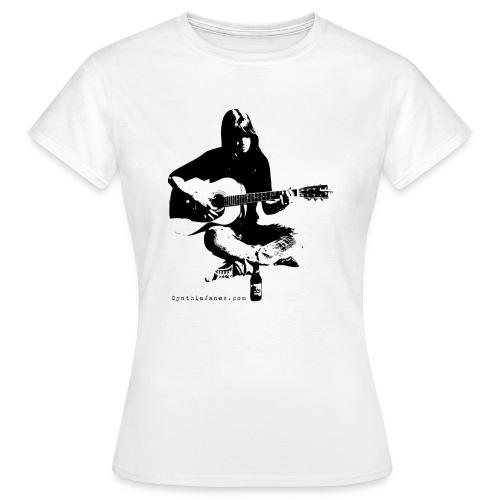 Cynthia Janes guitar BLACK - Women's T-Shirt