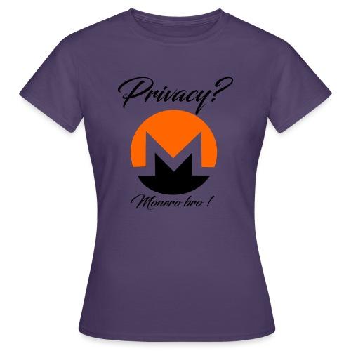 Moneroooo - T-shirt Femme