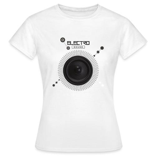 Electro Sound - Maglietta da donna