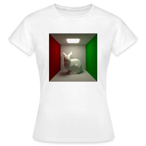 Bunny in a Box - Women's T-Shirt