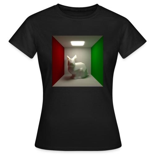 Bunny in a Box - Women's T-Shirt