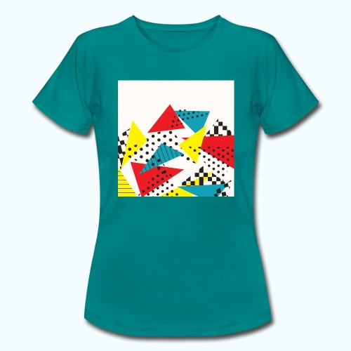 Abstract vintage collage - Women's T-Shirt