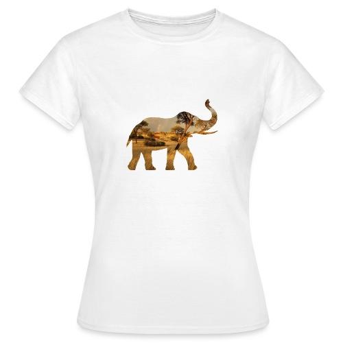 ELEPHANT - Vrouwen T-shirt