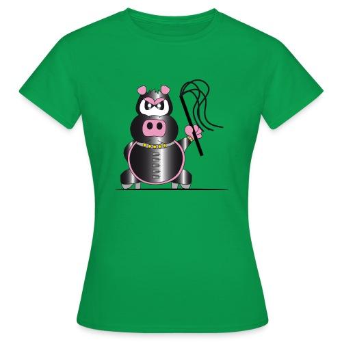 Schweinchen Sado - Frauen T-Shirt