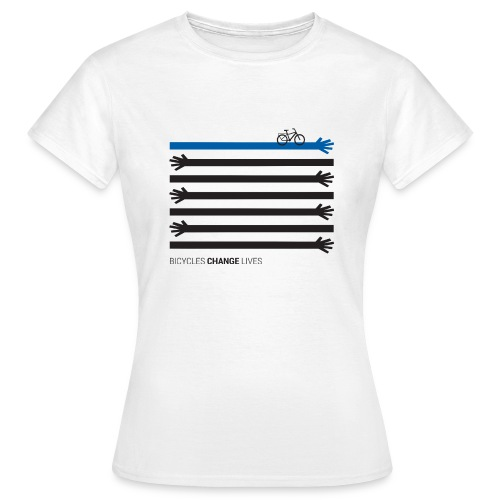 BCL Black Hands One Blue - Women's T-Shirt