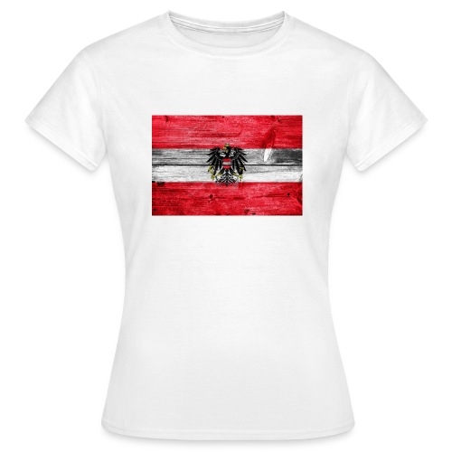 Austria Holz - Frauen T-Shirt