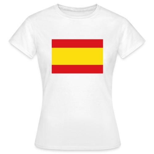 vlag van spanje - Vrouwen T-shirt