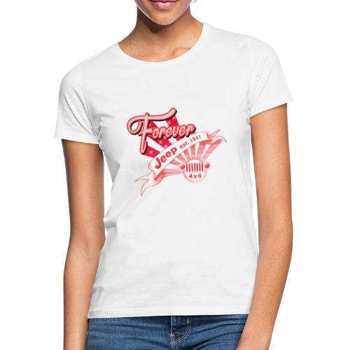 Forever Jeep - T-shirt dam