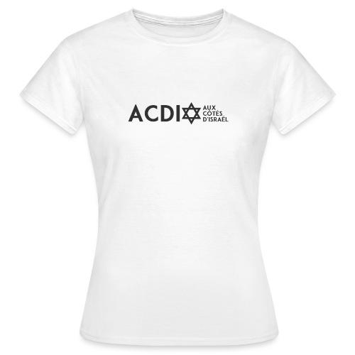 newacdi2 transp - T-shirt Femme