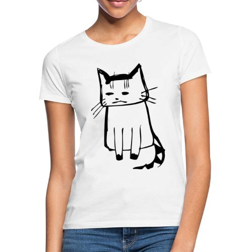 cat drawings on t shirt - Frauen T-Shirt