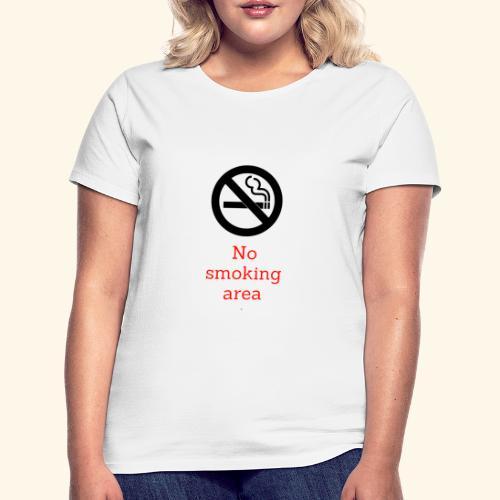 nie pal - Koszulka damska