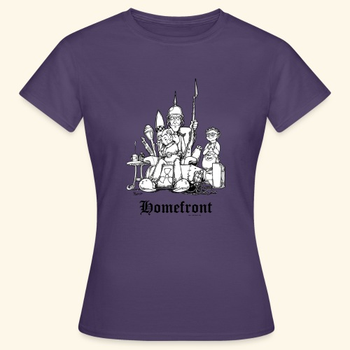 Homefront Heimatfront Waffen Mama Muttersöhnchen - Frauen T-Shirt