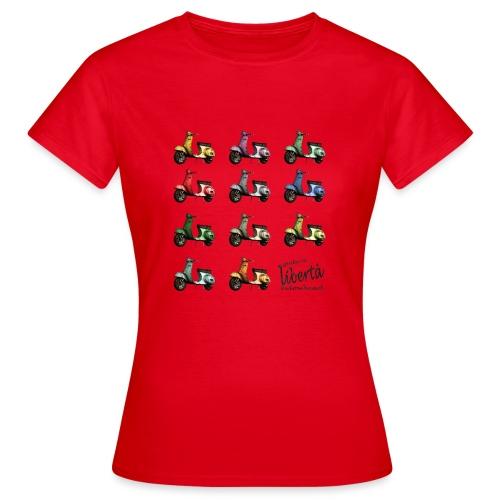 ♂ BIO-SHIRT: gusta la libertà - Frauen T-Shirt
