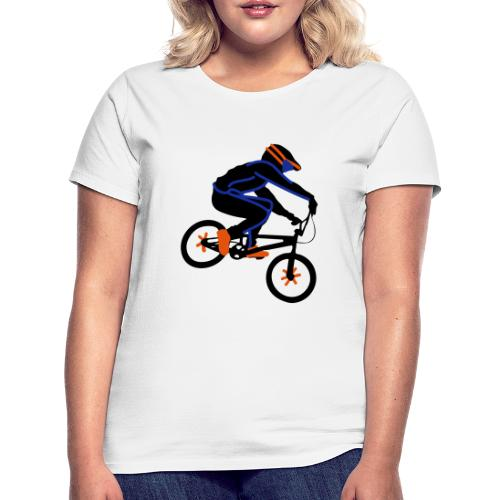 BMX Rider Dark - Vrouwen T-shirt