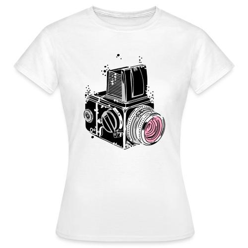 Desintegrating camera - Women's T-Shirt