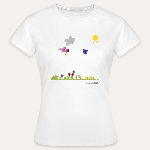 Blumenwiese von Marie - Frauen T-Shirt
