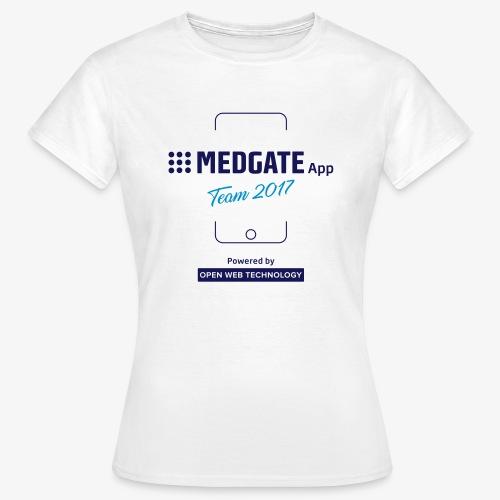 Medgate App Team 2017 White - Frauen T-Shirt