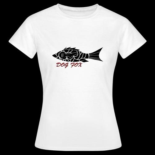 Dogfox Fisch - Frauen T-Shirt