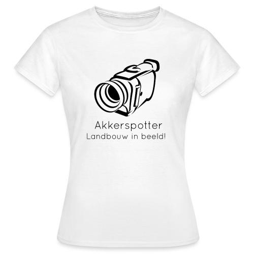Logo akkerspotter - Vrouwen T-shirt