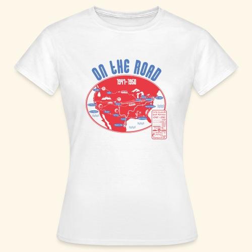 TShirtOntheRoad copy - Camiseta mujer