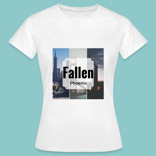 Fallen 1 png - Frauen T-Shirt