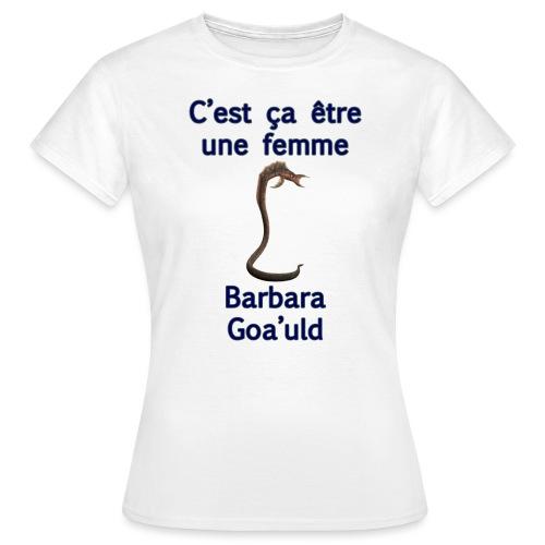 motif barbara goauld - T-shirt Femme