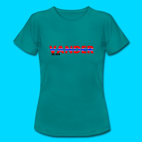 Vander in Red, white and blue. - Women's T-Shirt