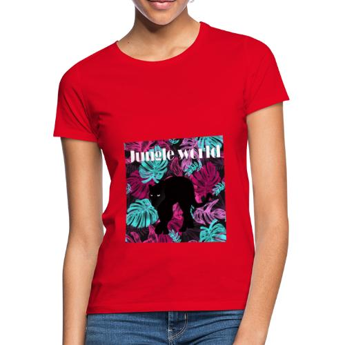 Jungle world panthere c - T-shirt Femme