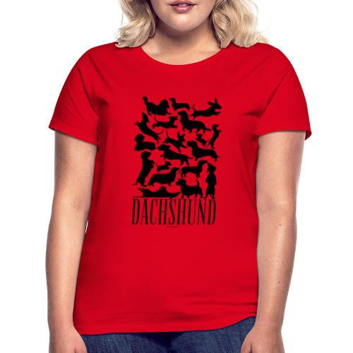 Dachshund Black - Naisten t-paita