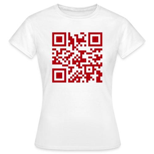 webseiterot - Frauen T-Shirt
