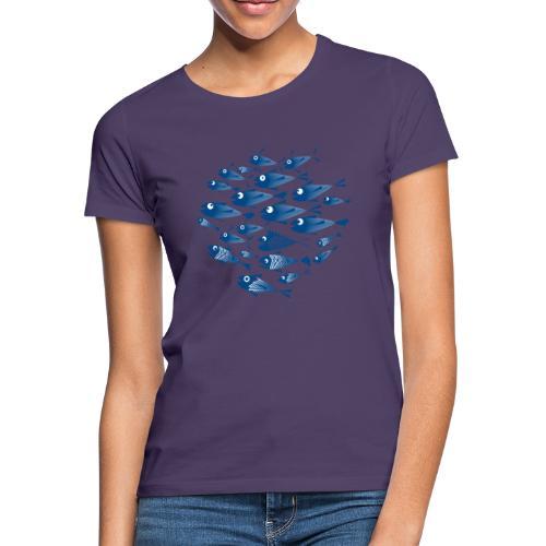 Banco di pesci / Banco del pesce - Maglietta da donna