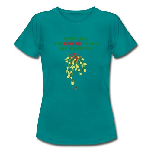 Under the mistletoe - Frauen T-Shirt
