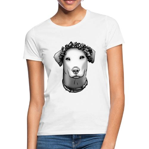FarbPfoten by Lin - JEANNIE o. Rahmen - Frauen T-Shirt