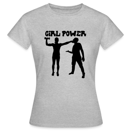 GIRL POWER hits - Camiseta mujer