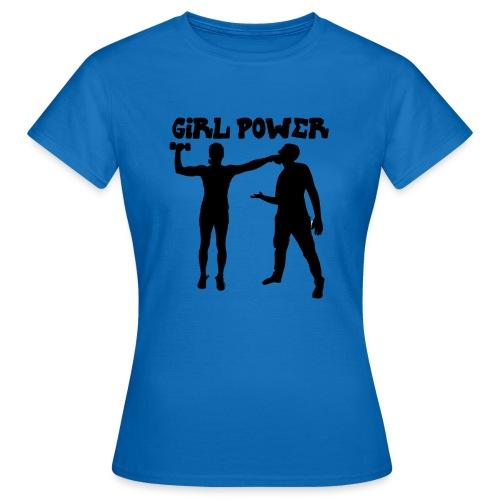 GIRL POWER hits - Camiseta mujer