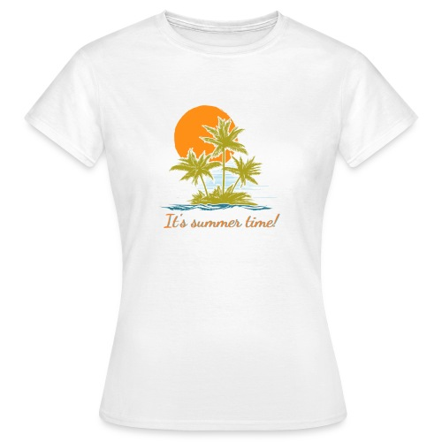 It's Summer Time Collection - T-shirt dam