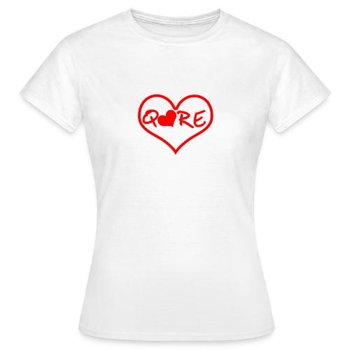 q❤re - Maglietta da donna