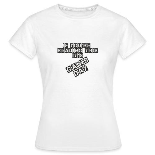 gainsday - Dame-T-shirt