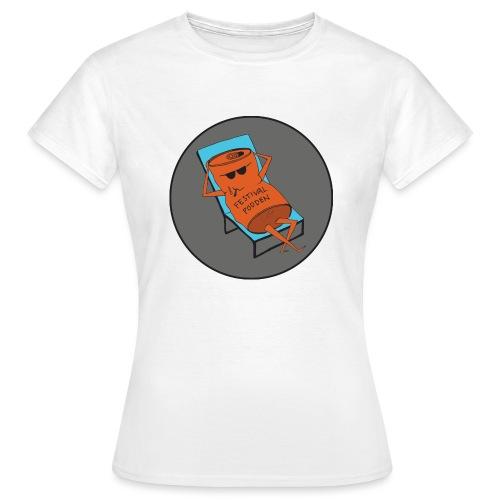 Festivalpodden - Loggan - T-shirt dam