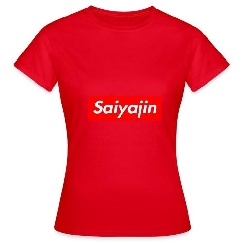 saiyajin - T-shirt Femme