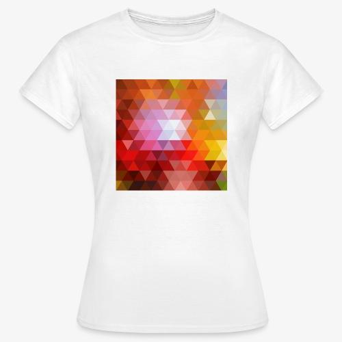 TRIFACE motif - T-shirt Femme
